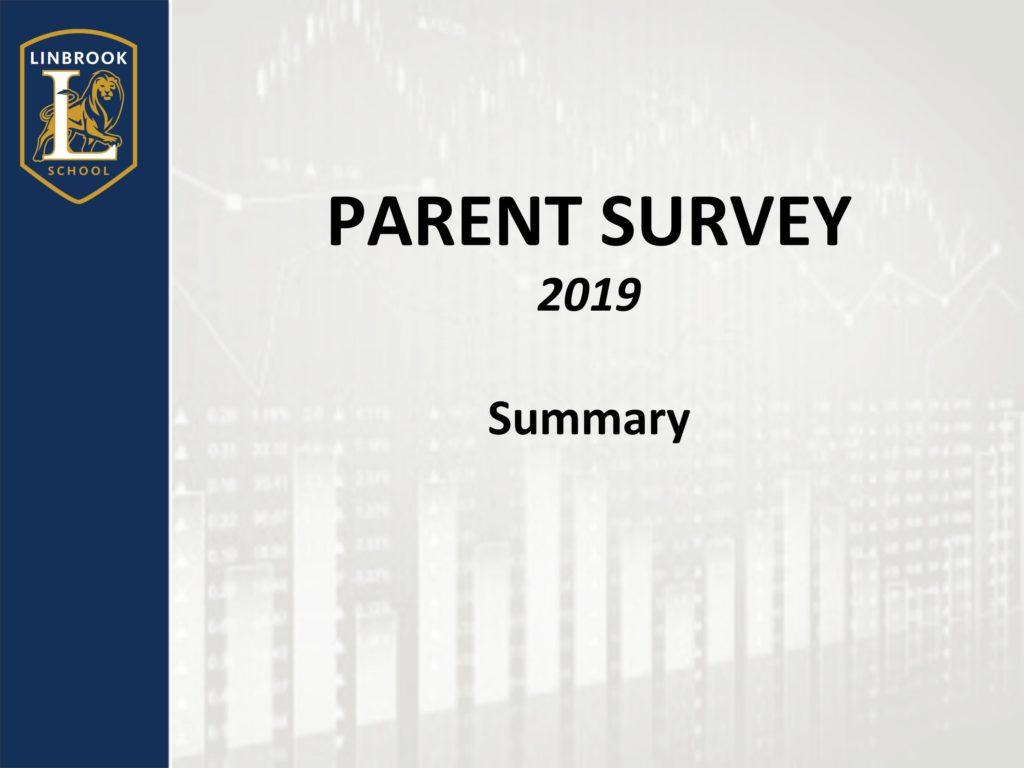 Survey Summary 2019